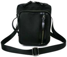 2WAY MINI SHOULDER BAG / PVC COATING COTTON / LEATHER