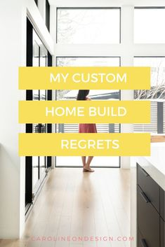 Is one of your biggest home build fears that you'll end up with custom home build regrets that are too costly to fix? Or possibly you're afraid you'll make decisions that are outdated in just a few short years? I had the same fears as YOU! Keep reading to find out how I feel about my custom home decisions 7 years after building my house. Home Design Blogs, House Design Photos, Light Oak Floors, Dark Wood Floors, Home Building Tips, Building A House, Cozy Office, Large Kitchen Island, Big Houses