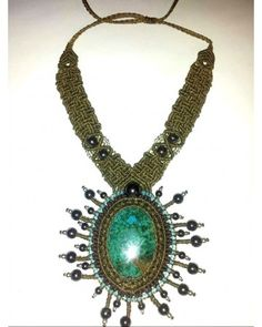 Andean Sun Peruvian Turquoise Necklace