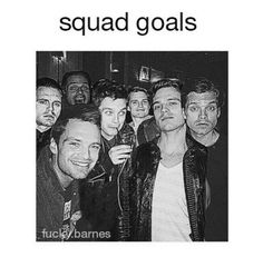 Sebastian Stan<<< I'd love to chill with that squad!
