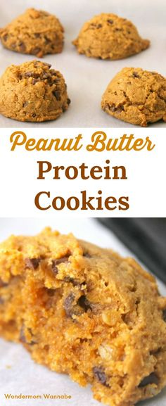Love dessert but hate the sugar and fat? You'll love these peanut butter protein cookies!