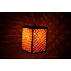 Contemporary Square Lamp from KraftInn, $13.00