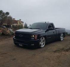 Meet your Posher, Salvador 09 Chevy Silverado, C10 Chevy Truck, Chevy Pickups, Jeep Truck, Chevrolet Trucks, Dropped Trucks, Lowered Trucks, Gm Trucks, Pickup Trucks