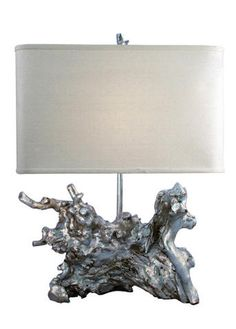 Silver Root Lamp...I have one in Gold.