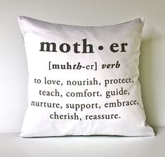 Mother definition cushion