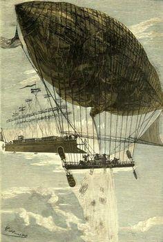 """Résultat de recherche d'images pour """"aeronef steampunk"""""""