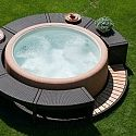 Softub, the easiest most efficient portable spa on market, I need one for my back and the place to put it