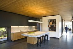 Elizabeth Street Residence Design by Jackson Clements Burrows - Architecture & Interior Design Ideas and Online Archives Interior Exterior, Kitchen Interior, Interior Design, Modern Architecture House, Residential Architecture, Architecture Design, Ikea, Modern Kitchen Design, Home Kitchens