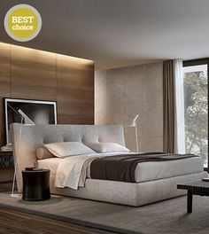 Today we will take a look at some astonishing side tables great for bedroom inspirations that you can acquire a new room design. Home Bedroom, Modern Bedroom, Master Bedroom, Bedroom Decor, Bedroom Ideas, Light Bedroom, Contemporary Bedroom, Bedroom Inspo, Bedroom Inspiration