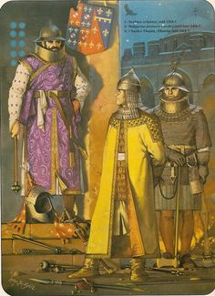 Балкански воини от 14ти век / 14th century Balkan troops by McBride