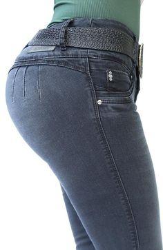 Ref: 433 JEAN GRIS OSCURO SIN BOLSILLOS Angela, Denim, Pants, Women, Style, Fashion, Winter, Models, Pockets