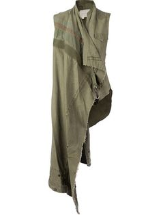 Shop Greg Lauren asymmetric drapped tunic in L'Eclaireur from the world's best independent boutiques at farfetch.com. Over 1000 designers from 300 boutiques in one website.