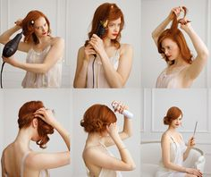 Hairitic (Hi! I really love your blog. I was wondering if you could post a video tutorial on how to do different updo's for medium length hair. i want to try something out for the upcoming holiday parties i will be attending. (:)
