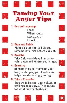 anger management activities (Taming Your Anger Tips from the game Mad Dragon: An Anger Control Card Game) Counseling Activities, School Counseling, Therapy Activities, Anger Management Activities For Kids, Group Counseling, Play Therapy, Cbt Therapy, Therapy Worksheets, Therapy Ideas