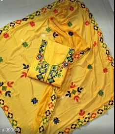 d1673e0a52 Aari Work Chanderi Cotton Suits/salwars/dress materials Vol 1 - Vastra  Fashion