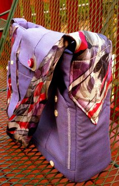 Shirt & Tie Purse - Handcrafted! $37.00