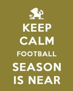 Foot Ball season is almost here