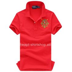 22070727353a Mens Red Ralph Lauren Polo Big Pony Shirts Chemise, Marques De Polos, Polos,