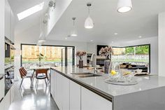 How Screed Flooring Can Help You Achieve The Minimalist Look - Open Plan Kitchen