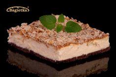 Sernik z polewą kajmakową | bagietka