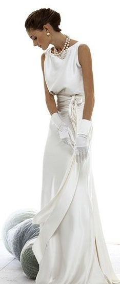 Perfect second wedding dress. Now I just need to find the groom :)
