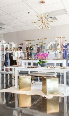 modern glam boutique decor ideas on a budget #homeideasonabudget