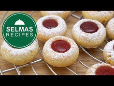 Μπισκότα με μαρμελάδα - YouTube