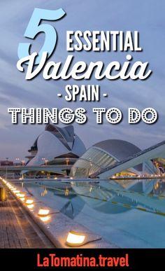What to do in Valencia, Spain | Mercado Centrale | Turia Gardens | City of Arts and Sciences | La Lonja de Seda | Valencia Cathedral | La Tomatina Festival