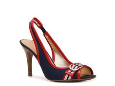 nautical (Red, White, Blue) pump: loving this for summer