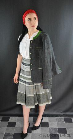 Trachtige Herbst Damen Kombinationen - bei Loden Landl Blazer, Shirt Dress, Shirts, Dresses, Fashion, Fall, Jackets, Curve Dresses, Vestidos