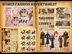 women fashion advertisments
