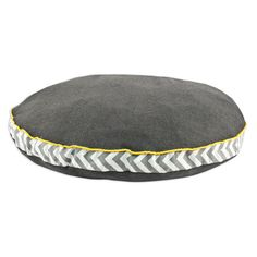 Chooty & Co Round Dog Bed with Zig Zag Band and Top Cording & Reviews   Wayfair