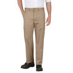 Dickies Industrial Cotton Cargo Pant Desert Sand 36 Waist 34 Inseam