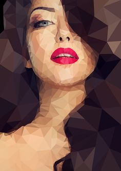 Low Polly on Behance