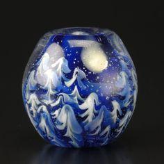 Glass beads: Moonlight forest