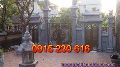 Cổng đá đẹp ở Ninh Bình - Mẫu cổng đá xanh - Cổng đá đẹp giá rẻ Neon Signs