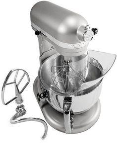 Kitchenaid R-KP26M1Xnp Pro 600 Stand Mixer 6 qt Nickel Pearl BIG Large Capacity #KitchenAid