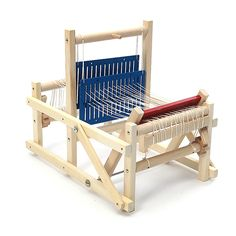 Kids Wooden Multi-Craft Weaving Loom Developmental Toy DIY Sewing Kits