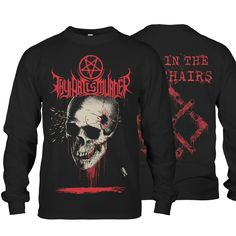 "Thy Art Is Murder ""Life In The Crosshairs"" Longsleeve Punk Fashion, Grunge Fashion, Fashion Outfits, Thy Art Is Murder, Metal Shirts, Band Merch, Longsleeve, Graphic Sweatshirt, T Shirt"