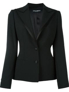 Check out Dolce & Gabbana with over 1 items in stock. Shop Dolce & Gabbana satin trim peaked lapel blazer today with fast Australia delivery and free returns. Blazer Fashion, Fashion Outfits, Womens Fashion, Fashion Boots, Blazer Outfits, Black Satin, Blazer Jacket, Leather Jacket, Winter Fashion