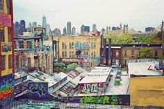 5 Pointz, Long Island City, Queens. Mecca for Graffiti artists