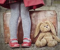 traveling with her best friend...love to incorporate a child's fav toy into their photo session!