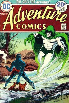 Adventure Comics #432, April 1974, cover by Jim Aparo