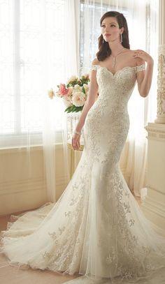 Stylish Sophia Tolli wedding dresses