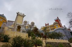 Sintra, Palacio da Pena, Disneyland in Portugal, bunt, Burg, Schloss, Ausflug
