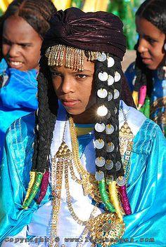 Tuareg tribe, Libya.