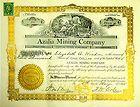 Azalia Mining Company stock certificate 1915 Neveda SCRIPOPHILY - http://coins.goshoppins.com/stocks-bonds-scripophily/azalia-mining-company-stock-certificate-1915-neveda-scripophily/