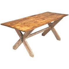 French Antique Harvester Table