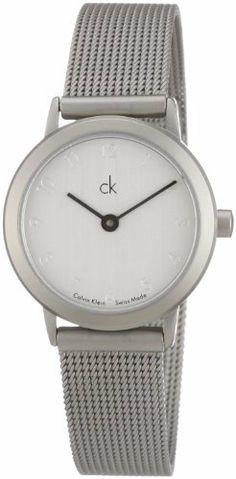 Calvin Klein Minimal Quartz White Dial Women's Watch - K0313120 Calvin Klein. $117.93. 30 Meters / 100 Feet / 3 ATM Water Resistant. Quartz Movement. Mineral Crystal. 24mm Case Diameter