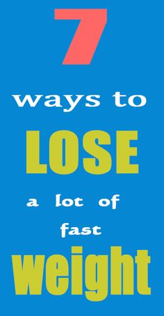 There are many ways to lose a lot of weight fast.  However, most of them will make you hungry and unsatisfied.  If you don't have iron willpower, then hunger will cause you to give up on these plans quickly.